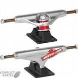 "INDEPENDENT ""BTG"" 159 Stage 11 Silver/Blk Skateboard Trucks Hollow Forged Light 8.75 lighter"